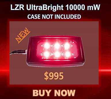 Research 1 LZR UltraBright 10000 NO CASEF